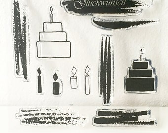 Clear stamps _ light _