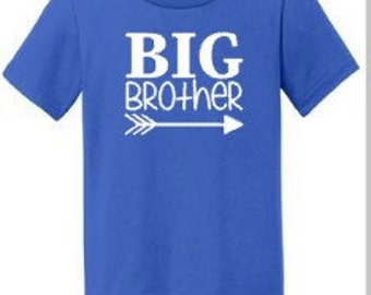 Big Brother Shirt | Boys Shirt, New Brother, Baby Brother | Pregnancy Announcement, Baby Shower