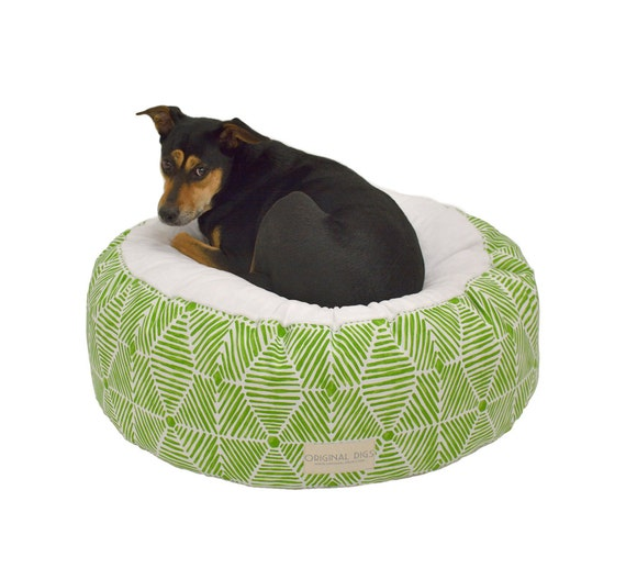 Fancy dog bed bohemian pet pouf designer pet beds for cats - Designer pet beds small dogs ...