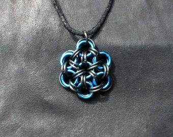 Japanese Flower pendant