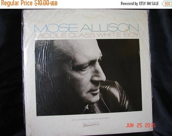 Mose Allison Middle Class White Boy Elektra E1-60125 Factory Sealed From 1982