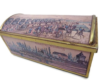 E Otto Schmidt First Railroad in Germany Collectible Tin (1950s)