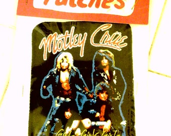 motley crue 1987 patch in its packaging !!! Girls, Girls, Girls