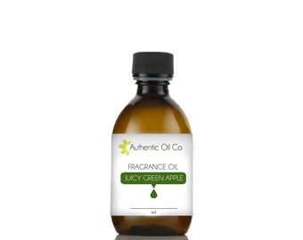 Juicy green appple fragrance oil concentrate,  for soap bath bombs and candles cosmetics,  10ml 50ml 100ml 250ml 500ml 1 litre