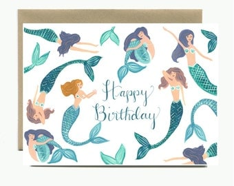 Happy Birthday Mermaids