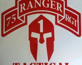 Ranger decal
