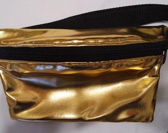 Gold Fanny Pack / Belt bag