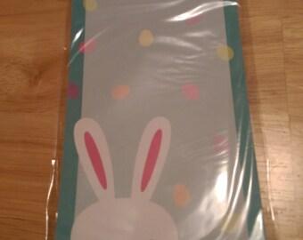 Easter Spring Target Magnetic Notepad