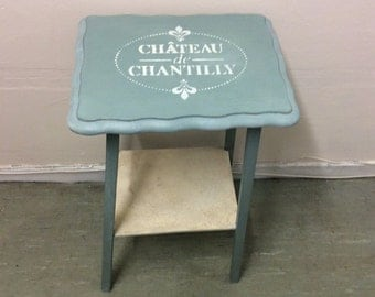 """OCCASIONAL TABLE - shabby chic - """"Chantilly"""""""
