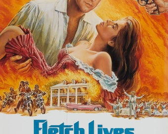 Fletch Lives 1989 Thriller/Cult Movie POSTER Chevy Chase