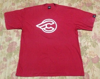 Cinelli tshirt wing red cycling Made In Italy size XL