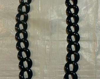 Dark/Navy Blue Chain Necklace