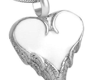 Casket Etcetera Dripping Heart Memorial Pendant