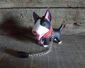 Black dog chain, collar and Bell for Blythe & Dolls