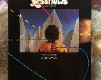 YES world tour programme 1977! Special guest DONOVAN