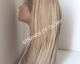 Ms. Not Too Light - Blonde Full Lace Wig