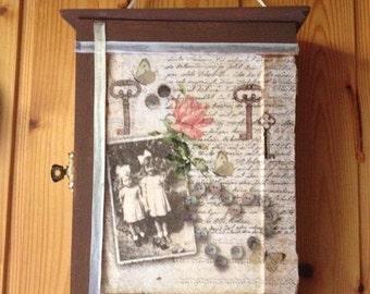 Wood key box