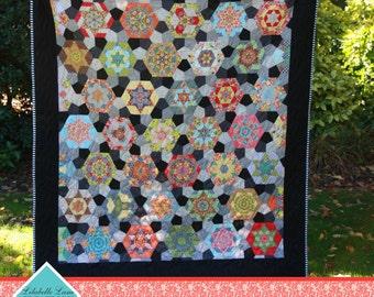 Hexa Go Go  English Paper Piecing        Quilt Projects  Tacha