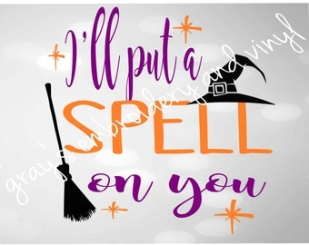 I'll put a spell on you