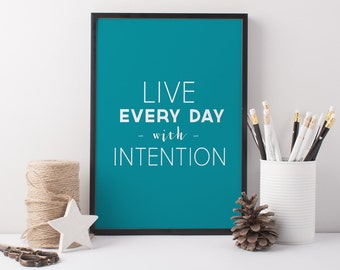 Motivational Typographic Print - A4 Print - Giclée Art Print