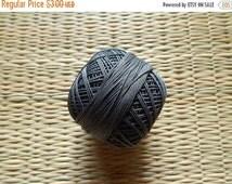 15% OFF Grey Crochet Yarn, Mercerized Cotton Yarn, Knitting Yarn, Embroidery Yarn, Cotton Crochet Yarn - 120 Yards