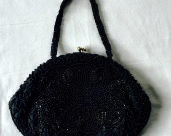 Black Evening Bag - Clutch Purse - Black Clutch Bag