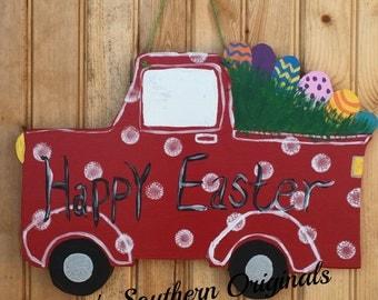 Easter Truck door hanger