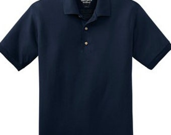 Embroidered polo etsy for Custom company polo shirts
