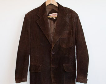 Western Men's Suede Jacket