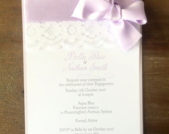 Christening/Baby Shower/Engagement/Wedding Invitation