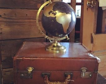 Globe, World Globe, Custom Globe, Travel Globe, Travel Gift, Wanderlust, Adventure, Travel, Handmade Globe, Gold Map, Gold Globe