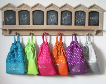 Bag child first name unique customizable option - snack-to Doudou-pool-Sport-toy
