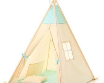 Kids Teepee Best Christmas gift for children ,  kids play tent, tipi, kids tepee, wigwam, children tipi, enfant tipi