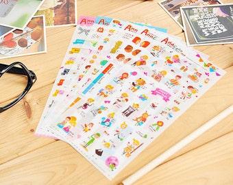 Ann Coco Index Sticker