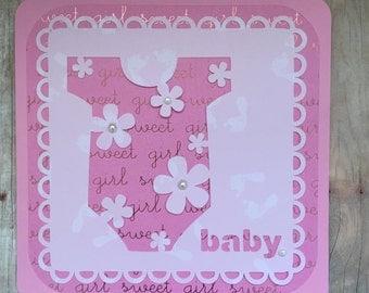 Handmade Baby Card