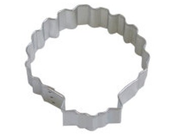 Sea Shell Cookie Cutter 3""