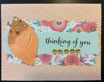 Homemade Card - Thinking of You
