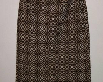 Welsh tapestry vintage winter skirt FLASH SALE