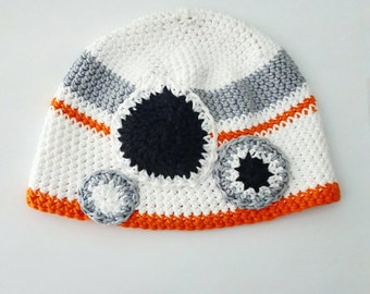 Custom Character Hat- 100% Organic Cotton- newborn to adult sizes