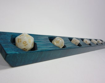 The Dice Rail, A Dice Holder for RPG Gaming, DND, Dungeons and Dragons, Pathfinder, Dice Tray, DM Screen, Dungeon Master, Game Master, gm