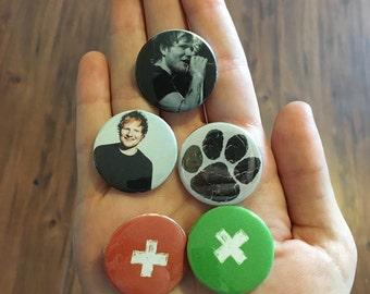 Ed Sheeran Buttons