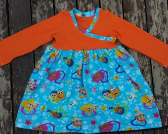 2T Bubble Guppies Crossover Dress
