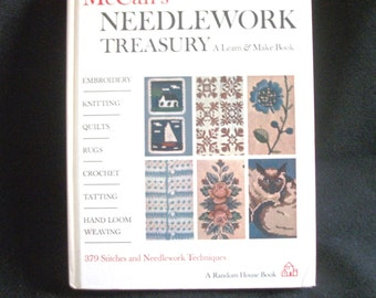 McCalls's Needlwork Treasury - - a Learn and Make Book