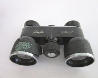 vintage old Vida Vue  3x30 opera  theater binocular, Item from the 30th, with original case