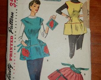 Cute 1950s apron pattern