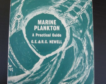 "Vintage Book ""Marine Plankton a Practical Guide"