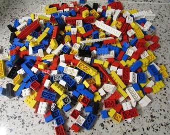 Free Shipping USA  300  Lego Blocks VINTAGE Bloc Lego VTG Jeux De Construction Pour Enfants