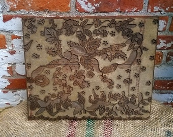Antique Indonesian Textile Printing Block