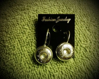 Mini Snap Earrings