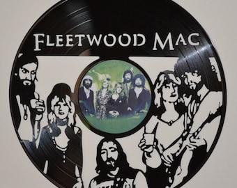 Fleetwood Mac Vinyl Record Wall Art